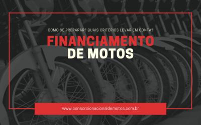 Como se preparar para um financiamento de motos?