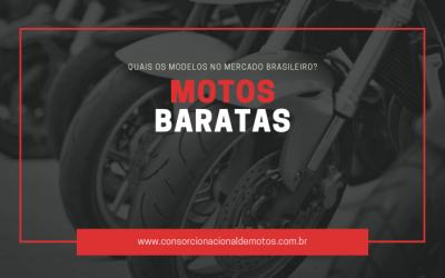 Confira quais são as motos baratas no mercado brasileiro!