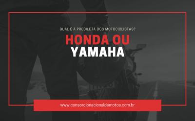 Honda ou Yamaha? Qual é a predileta dos motociclistas?