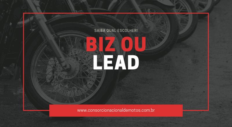 Moto Biz ou Lead? Saiba qual escolher!