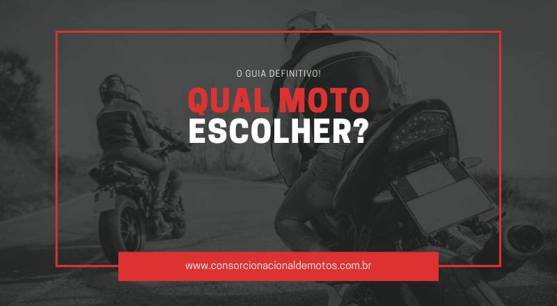 qual moto escolher