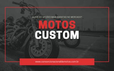 Quais são as Motos Custom baratas no Brasil?